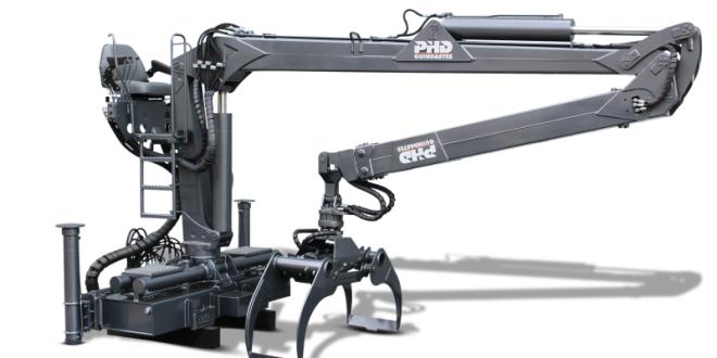 PHD Guindastes modelo 13F80 modelo florestal