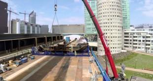 VIDEO: Construcción de una autopista