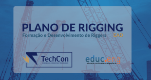 techcon treinamento plano de rigging